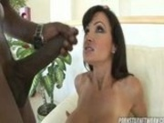 Lisa Ann sucks and fuck a big black cock