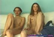 Lesbian Cuties Casting on the Couch part3