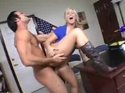 Schoolgirl forced to fuck then suck her teachers huge