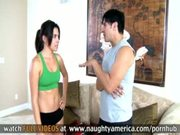 Danica Dillon Gives A Wet Sloppy Blowjob