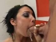 Cody Lane gives sloppy blowjob