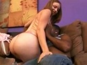 Teen loves big black dick