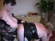 Mature BBW Lesbian action