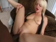 Another blonde gets slayed by monster cock