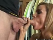Long Nipples Roxi gives head