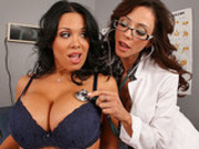 Sienna West & Ariella Ferrera: Dick Rush