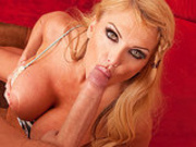 Big Titted Milf Taylor Wane loves to suck and Fuck a big hard cock!