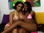 Hot Black Lesbians Alicia Tyler & Jazmyne Sky