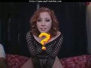 Cute HottieCherry Poppin Ball Busting bdsm bondage slave femdom dominatio