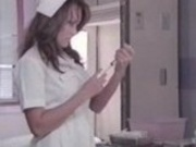 Asian pornstar as a nurse... woohoo!