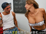 Lezley zen pounded hardcore at school!!