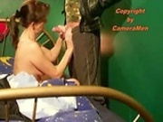 Army guy gets handjob