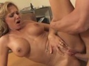 Blonde Bitch Fucks Her Husband