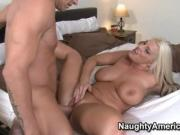 Sadie fucks her friends husband while she's out of town