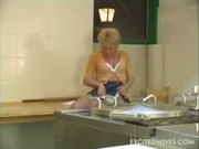 Granny having her old hole stuffed