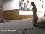 Michelle nude in public