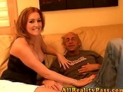 Hot MILF Morgan loves to suck and ride Max cock!