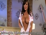 HOT BUSTY NURSE LISA ANN MAKES HER PATIENT ALL BETTER WITH A HARD FUCKING