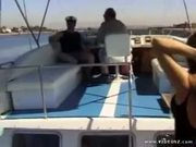 Tonisha Mills Big Tits on Boat