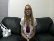 Super Cute Teen Inseminated in the Office