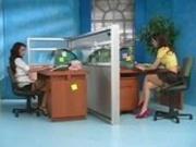 Nikki Nine & Karlie Montana - Horny Secretary