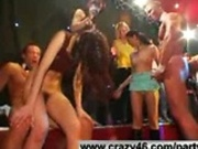Wild Girls Fuck Strippers at Party
