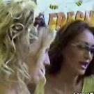 Lesbian MILFs teasing 3