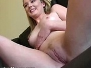 Blonde slut facefucked Tobi pt.2