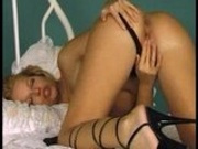 Slut masturbates for you!