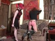 Daughter Spanks Her Stepmother