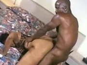 Phat ebony slut drilled by long black dick 2