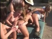 Outdoor Lesbians Find a Hooker