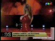 Sabrina Sabrok Sexy RockStar Biggest Breast in the World