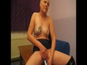 Mature german slut horny for cock at home