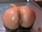Anal Blondes in Latex
