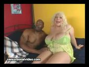 BBW Interracial Scarlett Rouge