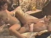 Christy Canyon and Ginger lynn scissor fucking