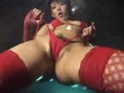 More oily asian dancing!
