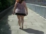 Fat Prostitute Walking