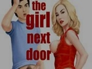 The girl next door cartoon