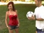 Felony- Milf fucked by two Soccer Player