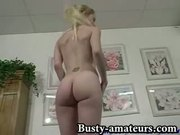 Candace fingering and toying her wet pussy