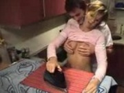 Sexy Housewife Nailed By Her Idiot Husband