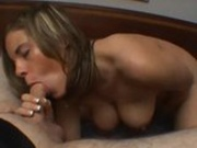 French Canadian slut  pov blowjob
