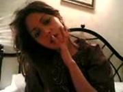 Indian actress-riya sen-at home naked