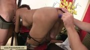 Threesome Bareback Slut