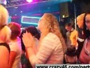 Wild Girls Fuck Strippers at Party (p2)