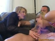 FFM threesome blondes fucking hardcore