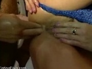Analfisting + cumshot on pussy