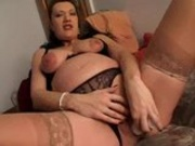 Preggo Masturbation Fun
